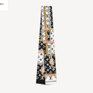 Louis Vuitton monogram confidential bandeau scarf